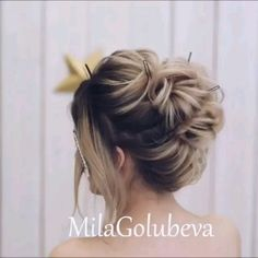 Do you wanna see more fab hairstyle ideas and tips for your wedding Then, just visit our web site babe! hairtutorial braidtutorials hairvideo videotutorial updotutorial updoideas weddinghair bridalhair weddinghairstylesupdo is part of Wedding hairstyles - Hairstyle Look, Up Hairstyles, Braided Hairstyles, Wedding Hairstyles, Hairstyle Ideas, Medium Hair Styles, Short Hair Styles, Medium Length Hair Updos, Peinado Updo