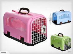 Portable Pet Carrier Cage Dog Travle Case - Pink | Trade Me