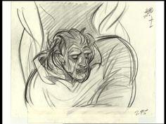 Beauty and the Beast transformation - Glen Keane