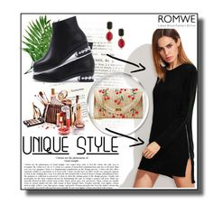 """Romwe II 10/10"" by dinna-mehic ❤ liked on Polyvore featuring 1st & Gorgeous by Carolee and romwe"