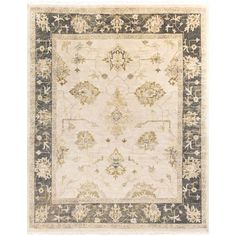 Istanbul Beige and Forest Rectangular: 9 Ft x 13 Ft Rug - (In Rectangular)