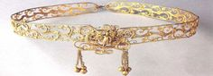 ancient golden headband