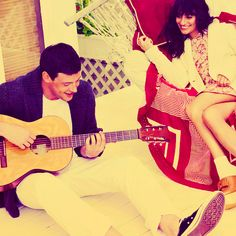 Find images and videos about couple, glee and lea michele on We Heart It - the app to get lost in what you love. Glee Rachel And Finn, Finn Glee, Cory Glee, Lea And Cory, Real Life Love Stories, Cory Monteith, Great Tv Shows, Por Tv, Lea Michele