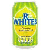 RWhites Lemonade Tins (330ml / 11.2fl oz)