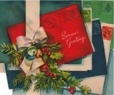 Christmas cards in the mail! Christmas Tree Scent, Christmas Mail, Old Time Christmas, Old Fashioned Christmas, Christmas Scenes, Very Merry Christmas, Christmas Gift Tags, Christmas Goodies, Christmas Greeting Cards