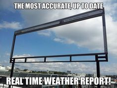 Most accurate weather report…