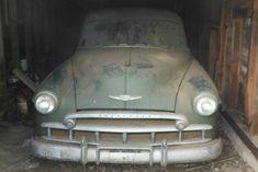 Shed Find! 1949 Chevrolet Fleetline Deluxe - http://barnfinds.com/shed-find-1949-chevrolet-fleetline-deluxe/