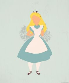 Lovely Alice silhouette.