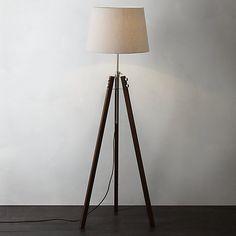 Buy John Lewis Ethan Wood Floor Lamp Online at johnlewis.com