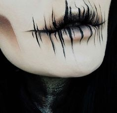 Lidschatten: Dunkle Materie + The Rust s … - Halloween Make-up Cosplay Makeup, Costume Makeup, Demon Costume, Horror Make-up, Creepy Horror, Creepy Makeup, Demon Makeup, Zombie Makeup, Sfx Makeup