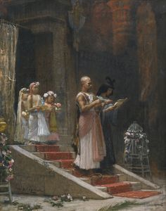 The Eygptian Procession by Frederick Arthur Bridgman
