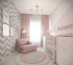 Baby Girl Nursery Design Ideas for Your Cutie Pie. Baby Girl Nursery Design Ideas for Your Cutie Pie - mybabydoo. Are you looking for some nice baby girl nursery ideas for your soon-coming child? If yes, then you're stumbling upon the right page. Baby Bedroom, Baby Room Decor, Nursery Room, Girl Nursery, Girls Bedroom, Girl Rooms, Bedrooms, Room Baby, Baby Bedding