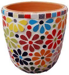 Resultado de imagem para pots in mosaic