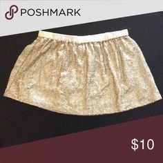 Aerie Sequin Skirt Fun and flirty sequin skirt. aerie Skirts Mini