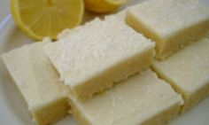 Coconut lemon slice - Kidspot