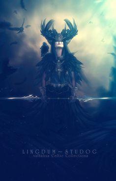 Black Crow Radiance~ by LINGDUMSTUDOG on DeviantArt
