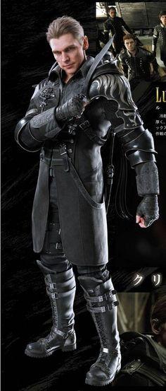 Kingsglaive Final Fantasy XV Luche Lazarus