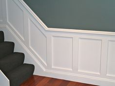 5 Simple and Ridiculous Ideas Can Change Your Life: Picture Frame Wainscoting Home gray wainscoting nursery.Wainscoting Nursery Design picture frame wainscoting home. Picture Frame Wainscoting, Wainscoting Height, Black Wainscoting, Wainscoting Nursery, Wainscoting Kitchen, Painted Wainscoting, Dining Room Wainscoting, Wainscoting Panels, Wainscoting Ideas