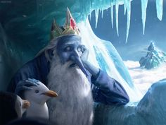"""The Ice King"" by chasestone.deviantart.com on #DeviantArt #AdventureTime #FanArt"
