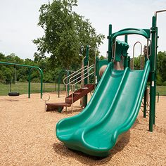 Completed playground for Jacksonville School for Autism in Jacksonville, FL