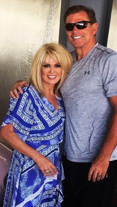 Marie & Steve her husband