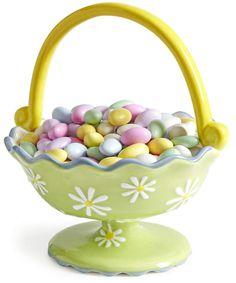 Pier 1 Basket Candy Dish has fresh and vivid springtime colors