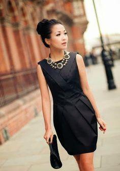 STYLISTE POUR EMPORTER: 5 idées pour réinventer sa petite robe noire