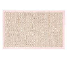 jute rug with shell pink border - pottery barn kids Baby Playroom, Border Rugs, Cheap Rugs, Jute Rug, Contemporary Rugs, Pottery Barn Kids, Kids Bedroom, Baby Kids, Kids Rugs