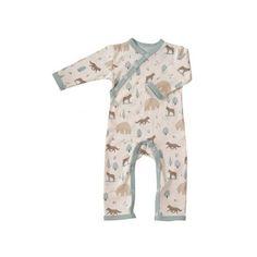 Pyjama en coton Bio Loup Bleu