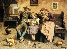 Eugenio Zampighi, Reading the News