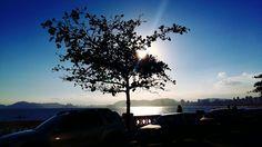 Praia de Santos, SP, Brasil.