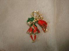 Vintage Scottsman Scottish Bag Pipe Kilt Red Green Enamel Figural Pin Brooch by PastPossessionsOnly on Etsy