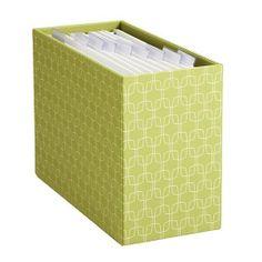 High & Low: Desktop File Boxes