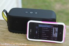 The Jabra Solemate Portable Speaker allows you to set sound free this Summer! #ad #review