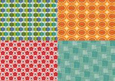 Retro patterned papers   cardmakingandpapercraft.com