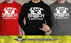 Camisetas Canine K9 Unit. Police Dog Training. Search & Rescue. Diferentes modelos y colores a elegir. Camisetas Militares. www.paracamisetas.com