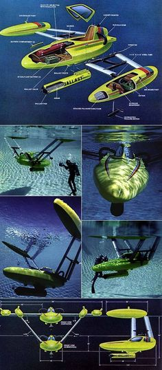 Personal recreation underwater vehicle - Boat Design Forums