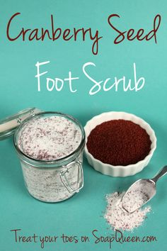 Cranberry Seed Foot Scrub | Soap Queen