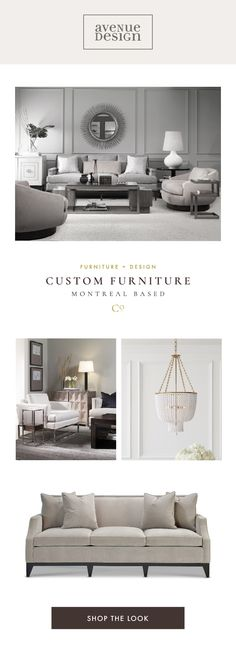 Avenue Design • High-end & custom furniture store in Montreal
