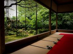 setting after the rain (Housen-in temple, Kyoto) by Marser