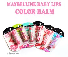 Maybelline Baby Lips Color Balm With Baby Lips Maybelline, Shinee, Lip Colors, Lip Balm, Skin Care, Makeup, Flowers, Beauty, Make Up