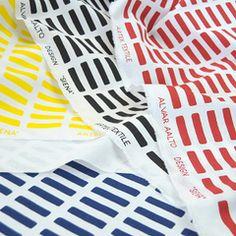 Artek Siena by Alvar Aalto Scandinavian Fabric, Scandinavian Design, Textile Patterns, Print Patterns, Textile Design, A Level Textiles, 1950s Design, Alvar Aalto, Nordic Design