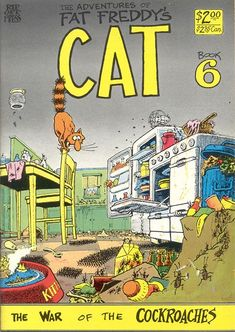 The Adventures of Fat Freddy's Cat 6 by #Gilbert_Shelton