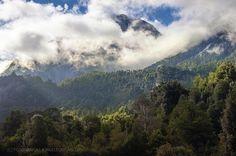 Luces de la mañana - Valle de Cochamo (Patagonia - Chile)