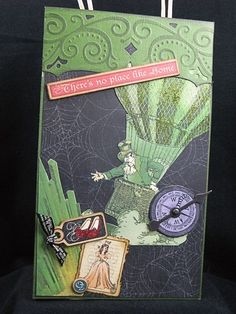 Image result for handmade wizard of oz cards
