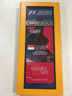2015 f1 vip paddock club ticket singapore gp #saturday #grand prix #formula 1,  View more on the LINK: http://www.zeppy.io/product/gb/2/112230090379/