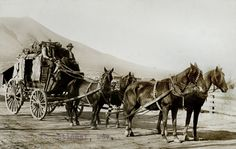 The Overland Stagecoach was an important part of the history of transportation to the west. The need for an overland stage route was recognized by congress as a means of transporting mail, freight and passengers. The Butterfield route, which was also called the Ox Bow route, ran south from St. Louis through El Paso, Texas to Yuma, California then up to San Francisco, California. The cost of a one way ticket was 200 and the trip took 25 days.