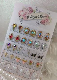 Hottest Pictures Toe Nail Art with gems Thoughts Usually whenever we believe with legs, we expect they can be messy and positively certainly not the Bling Nails, Gem Nails, Rhinestone Nails, Nail Jewels, Nail Art Rhinestones, Toe Nail Art, Acrylic Nails, Nagel Bling, Finger