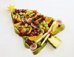 Slik får du til 5 om dagen i julen – frukt.no Fruit Salad, Cheese, Homemade Food, Christmas, Drinks, Happy, Recipes, Xmas, Drinking