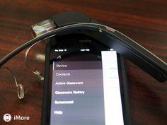 Now Google glass has an IOs app.